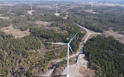Norra Hunna wind farm officially handed over